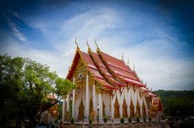 Temple Phuket Thailand