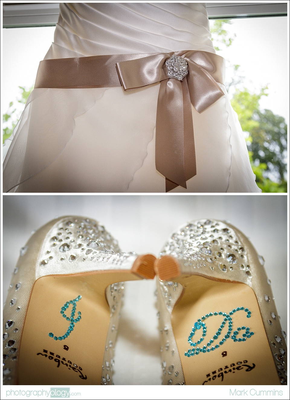 Wedding Dress & Shoes